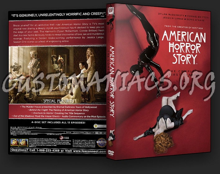 American Horror Story - Season 1 dvd cover - DVD Covers & Labels by