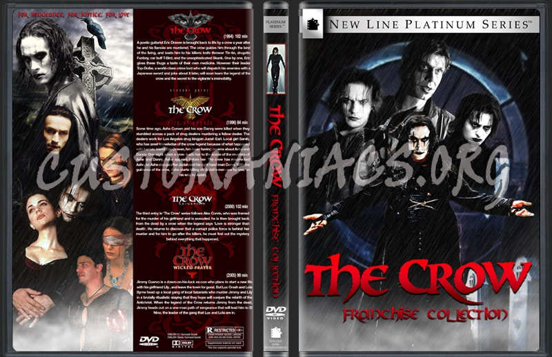 The Crow: Franchise Collection dvd cover