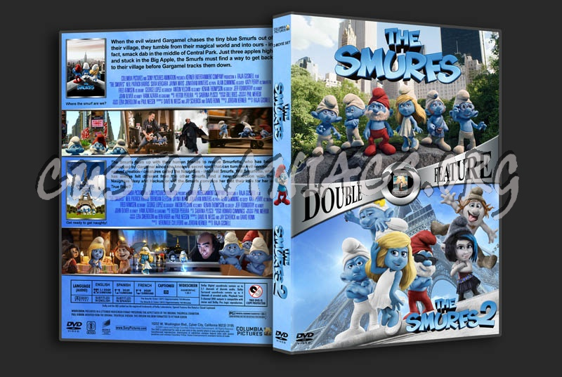 The Smurfs Double Feature dvd cover