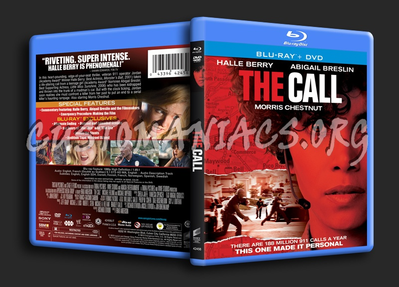 The Call blu-ray cover