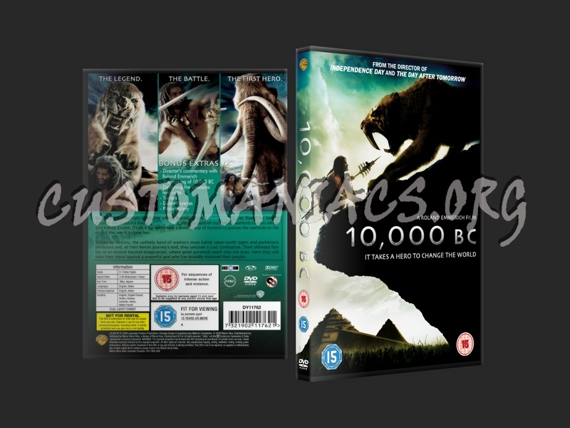 10,000 Bc dvd cover