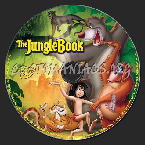 The Jungle Book dvd label