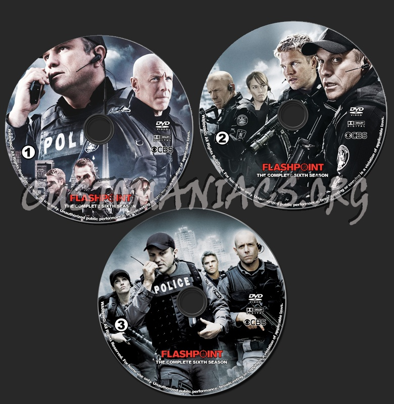 Flashpoint - Season 6 dvd label