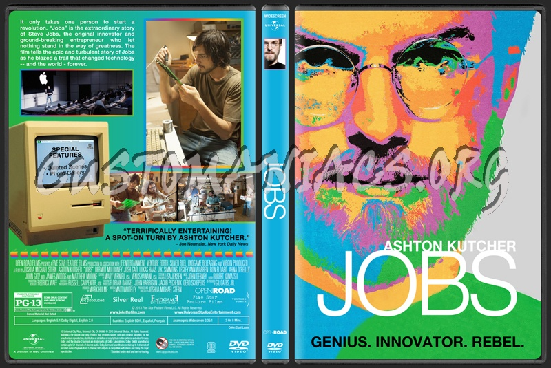 Jobs dvd cover