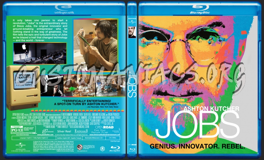 Jobs blu-ray cover