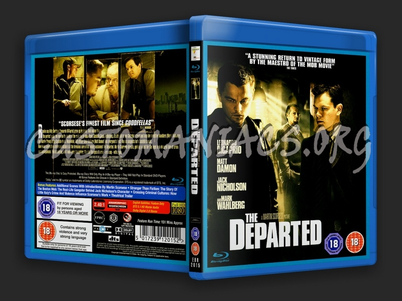 The Departed blu-ray cover