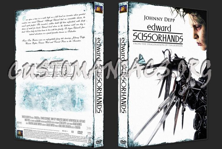 Edward Scissorhands dvd cover