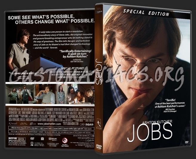 Jobs dvd cover