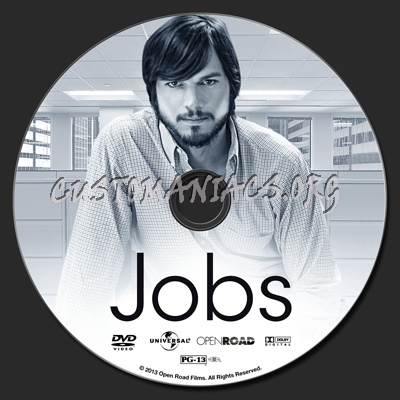 Jobs dvd label