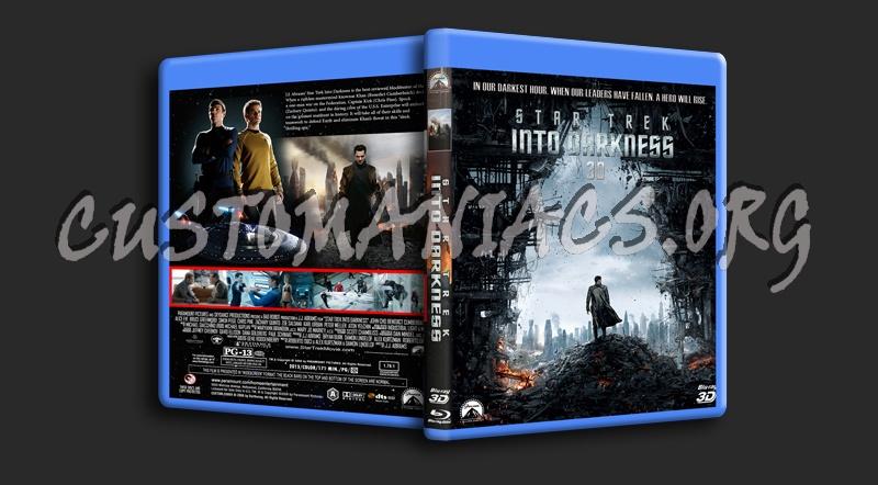 Star Trek Into Darkness 3D blu-ray cover