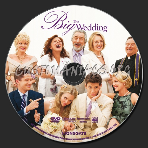 The Big Wedding dvd label - DVD Covers & Labels by ...