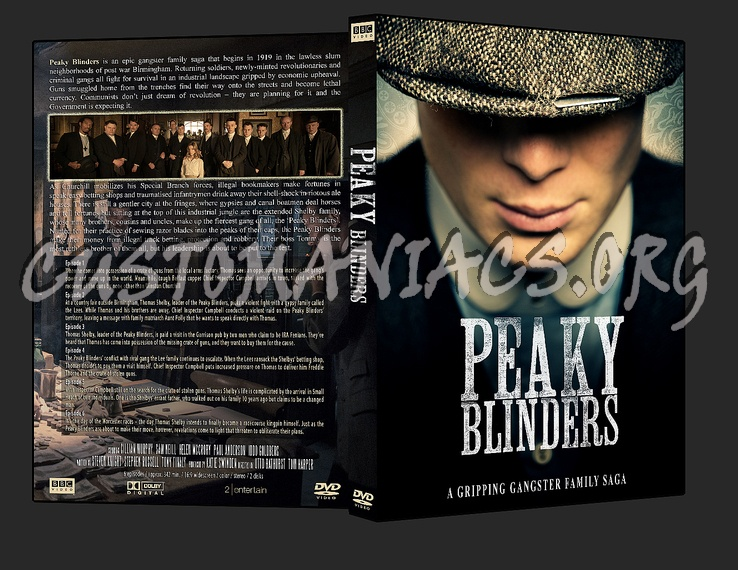 Peaky Blinders dvd cover