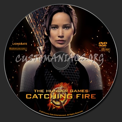 The Hunger Games: Catching Fire dvd label - DVD Covers ...