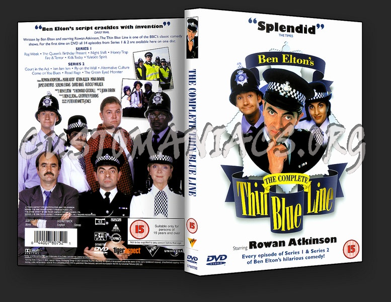 The Thin Blue Line Complete Series 1 & 2 dvd cover