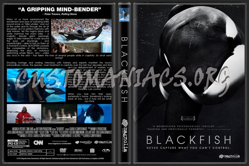 Blackfish dvd cover - DVD Covers & Labels by Customaniacs ... - photo#5