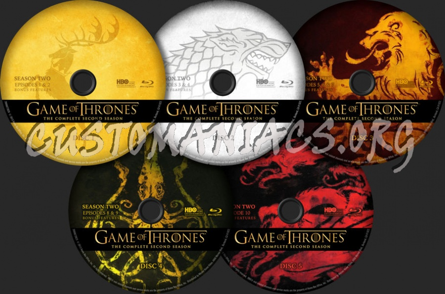 game of thrones season 2 bluray download
