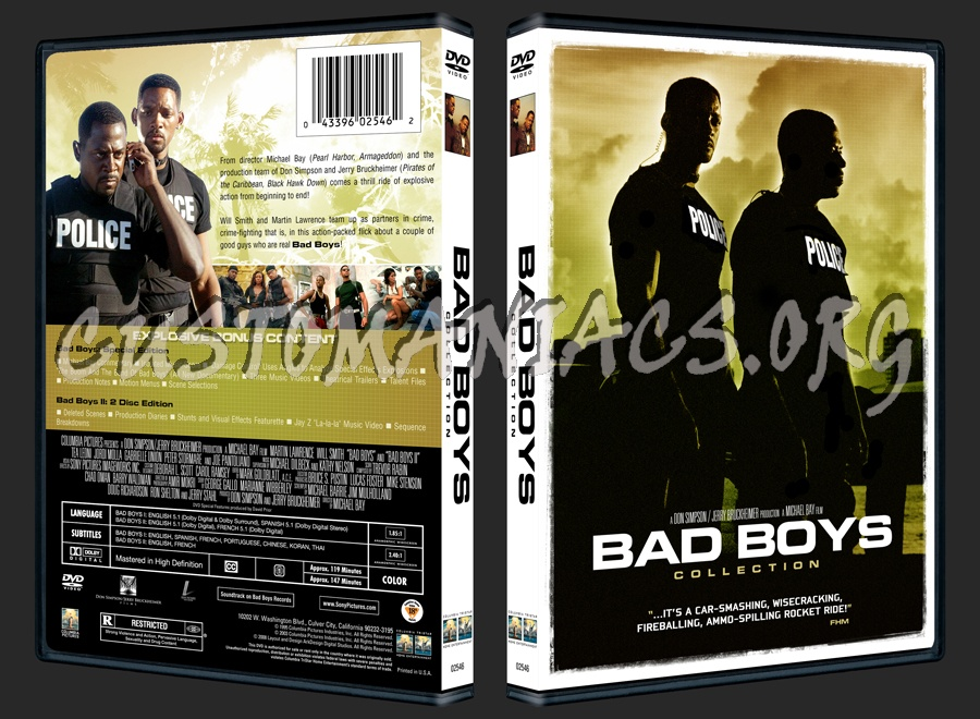 Bad Boys Collection Dvd Cover Dvd Covers Labels By Customaniacs Id 33960 Free Download Highres Dvd Cover
