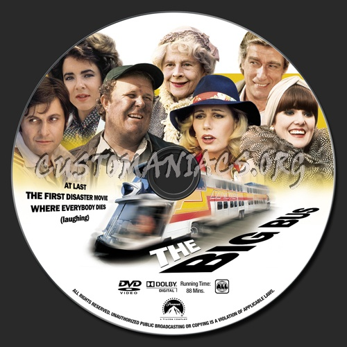 The Big Bus dvd label