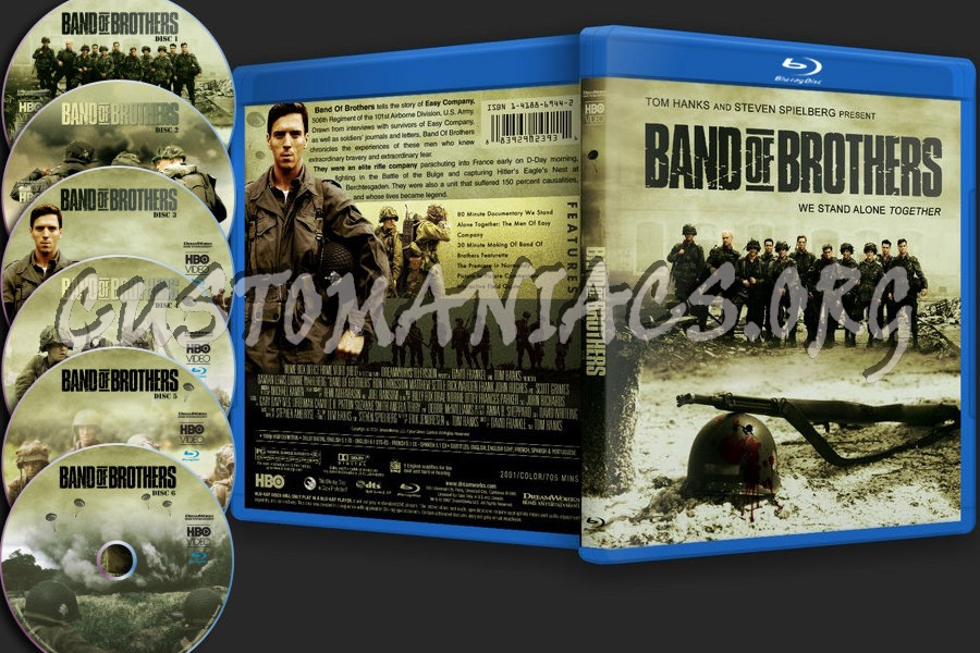 Band Of Brothers blu-ray cover