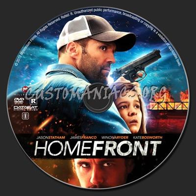 Homefront dvd label
