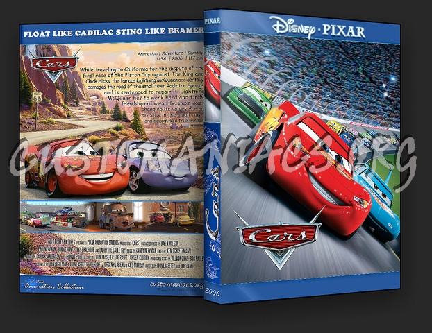 Cars - Animation Collection dvd cover