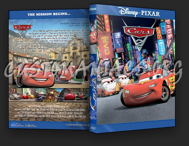 Cars 2 - Animation Collection dvd cover