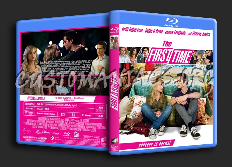 The First Time blu-ray cover