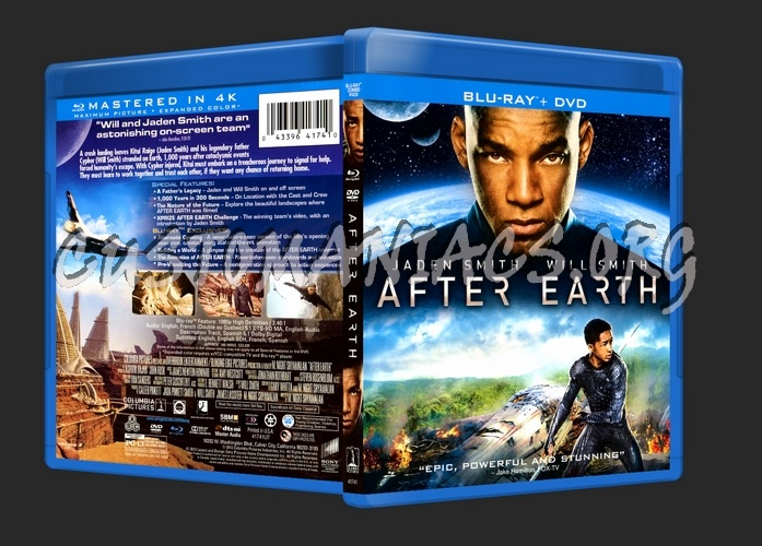 After Earth blu-ray cover