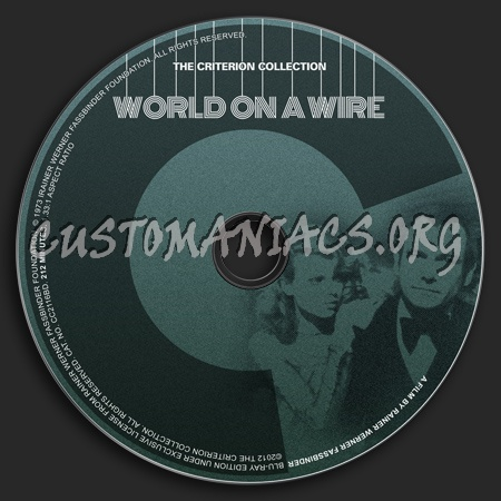 598 - World On A Wire dvd label