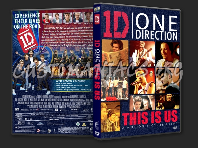 One Direction: This Is Us (2013) dvd cover