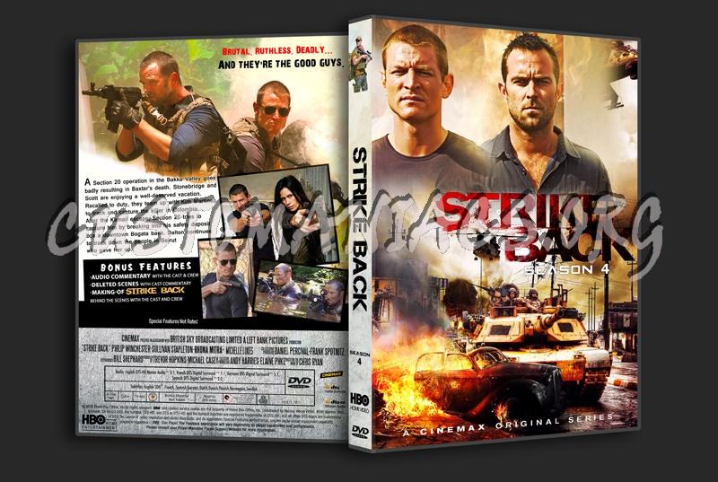 Strike Back season 4 dvd cover
