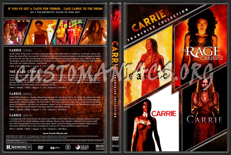 Carrie - Franchise Collection dvd cover