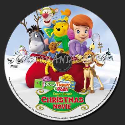 My friends tigger pooh super sleuth christmas movie dvd label my friends tigger pooh super sleuth christmas movie dvd label altavistaventures Images