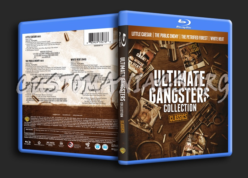 Ultimate Gangsters Collection blu-ray cover