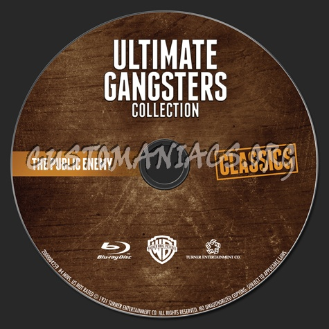Ultimate Gangsters Collection The Public Enemy blu-ray label