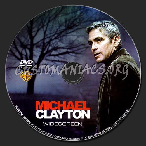 Michael Clayton dvd label