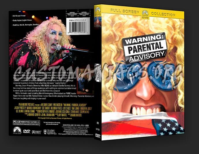 Warning: Parental Advisory dvd cover