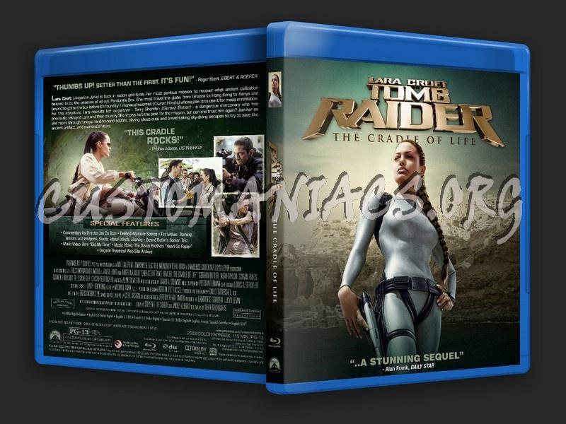 Lara Croft Tomb Raider Cradle Of Life Blu Ray Cover Dvd