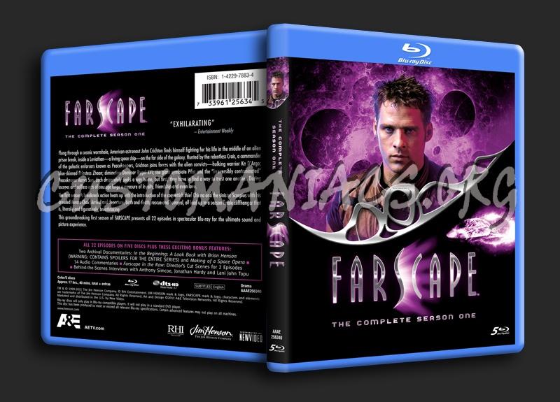 Farscape Season 1 blu-ray cover
