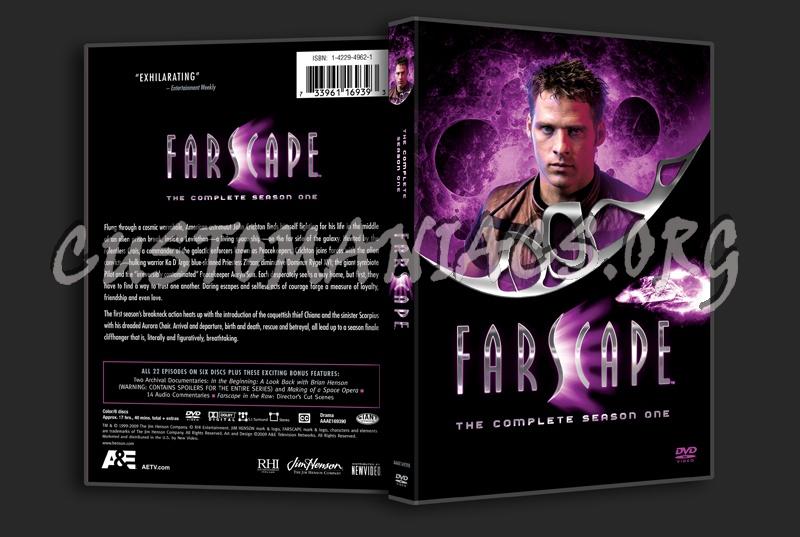 Farscape Season 1 dvd cover