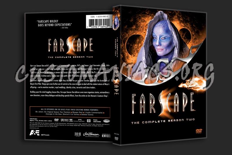 Farscape Season 2 dvd cover