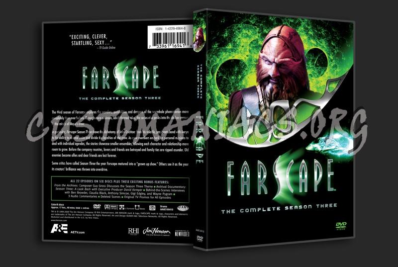 Farscape Season 3 dvd cover