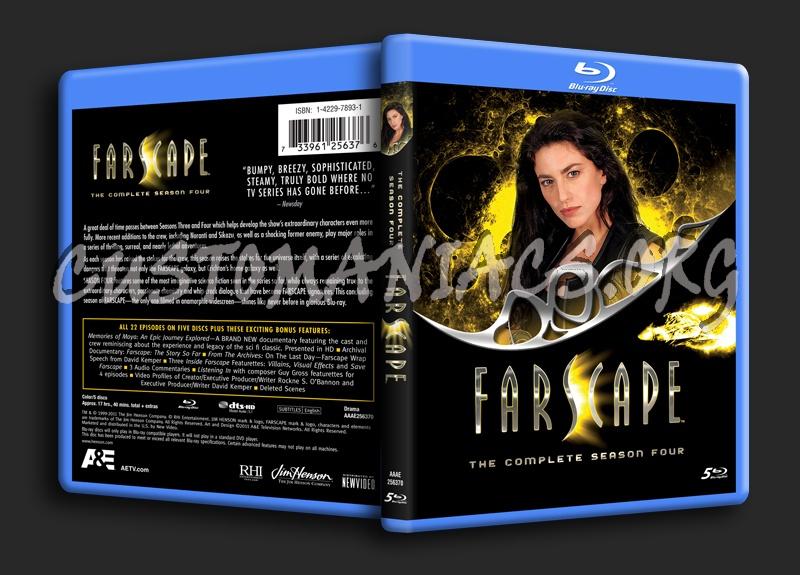 Farscape Season 4 blu-ray cover