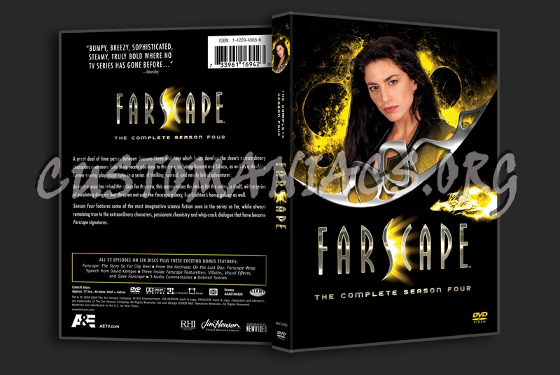 Farscape Season 4 dvd cover