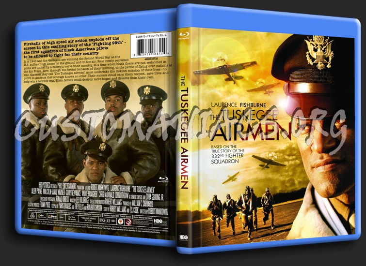 The Tuskegee Airmen blu-ray cover
