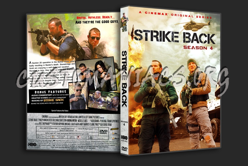 Strike Back s4 dvd cover