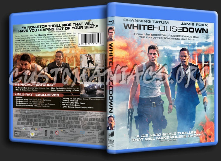 white house down bluray cover dvd covers amp labels by