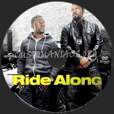Ride Along dvd label