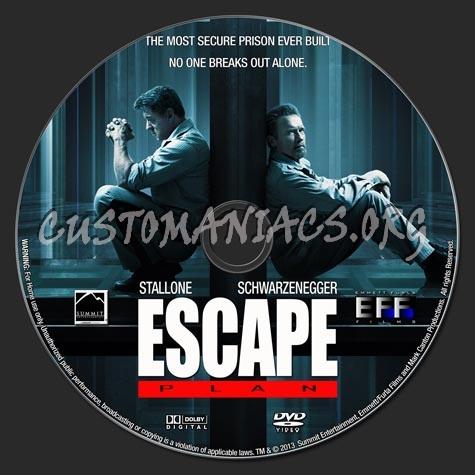 Escape Plan Dvd Label Escape Plan 2013 Dvd Label