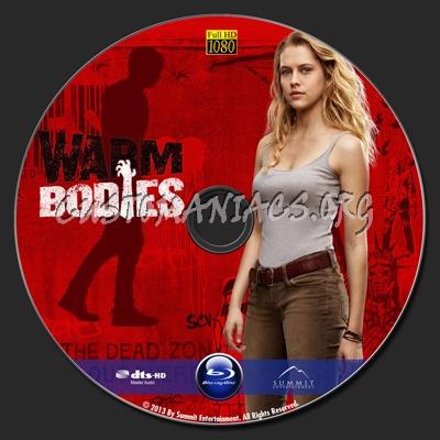 Warm Bodies blu-ray label
